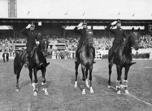 1928_Amsterdam_Goud eventing OS1928 Amsterdam_Gerad de Kruijff Charles Pahud de Mortanges Dolf van der Voort van Zijp